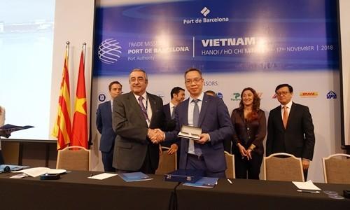 Việt Nam - Barcelona hợp tác phát triển ngành dịch vụ Logistics